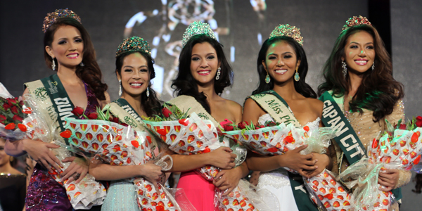 Miss Philippines-Earth 2014 Winners