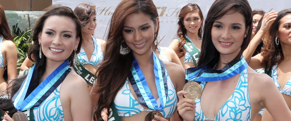 Miss Philippines Earth 2011 Press Presentation at Resorts World Manila